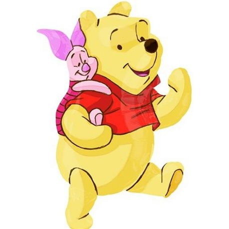 Pooh and friend SH