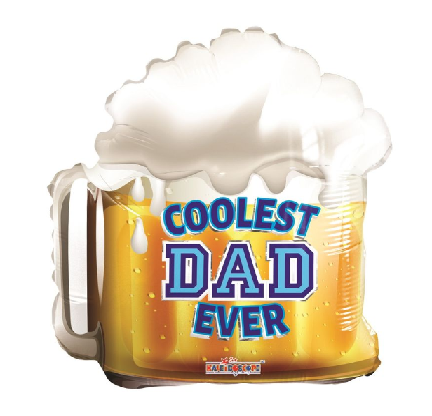 Coolest Dad Ever Bierglas SL