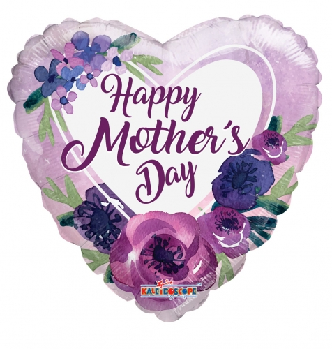 Happy Mother's day pruple flowers SL