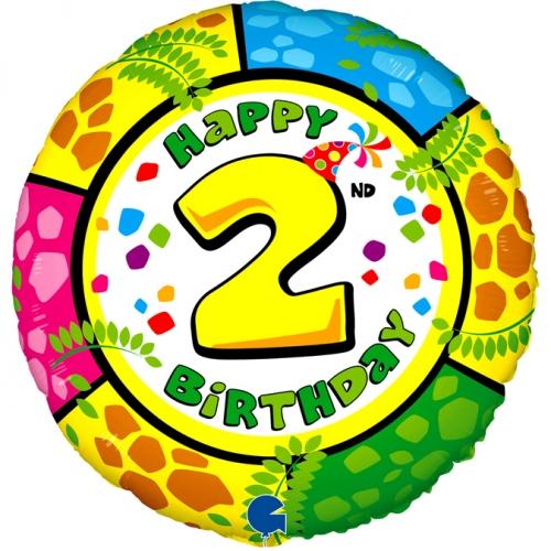 Happy 2nd Birthday Giraffe SH