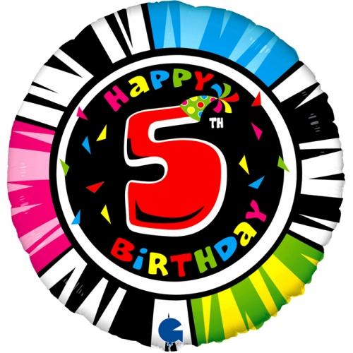 Happy 5th Birthday Zebra SH
