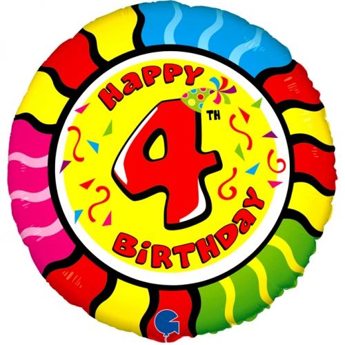 Happy 4th Birthday Slang SH