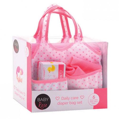 Baby Rose Luiertas met accesoires