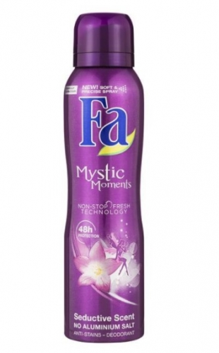 FA deospray mystic moments