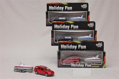 Holiday fun auto + speedboot