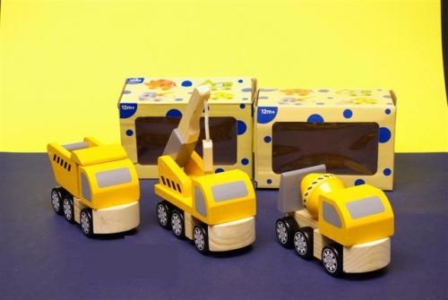 Wegenbouw voertuigen hout