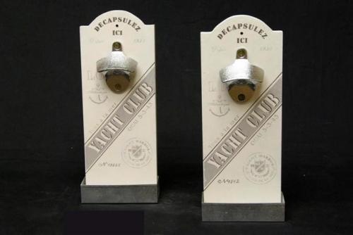 Flessenopener wand model