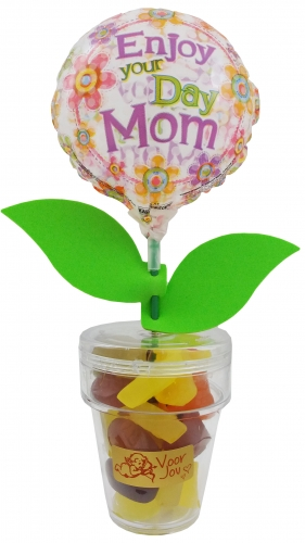 Flower Candy enjoy your day mom