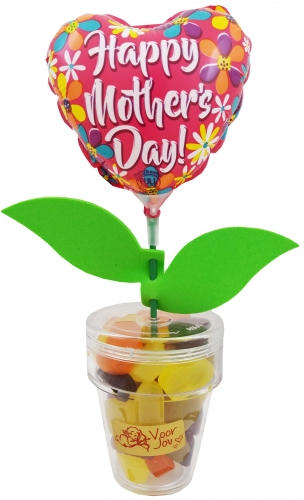 Flower Candy Happy mothers day heart