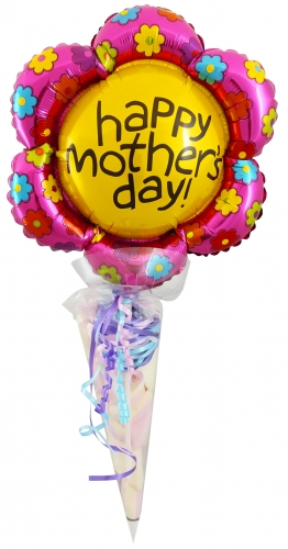 B&C Cornet happy mothers day flower