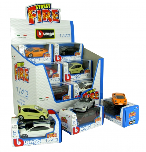 Bburago Firestreest assortiment Modelautos