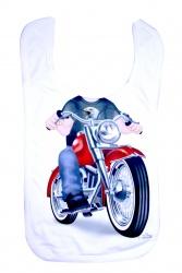 Just add a kid biker boy