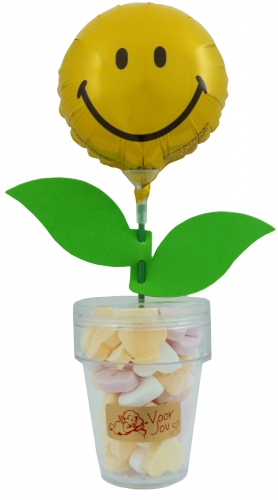Flower Candy Smiley Face