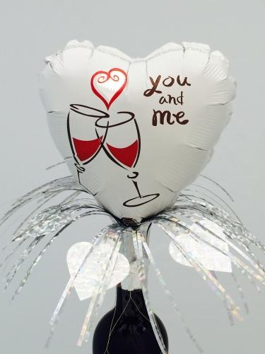 I love you bottle topper