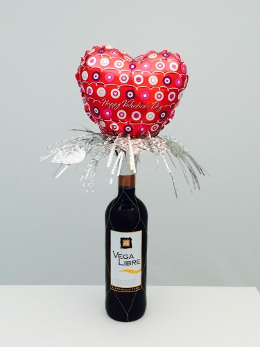 Valentine'sday bottle topper