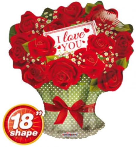 I love you red roses branch SL