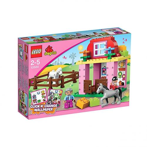 Paardenstal Lego Duplo