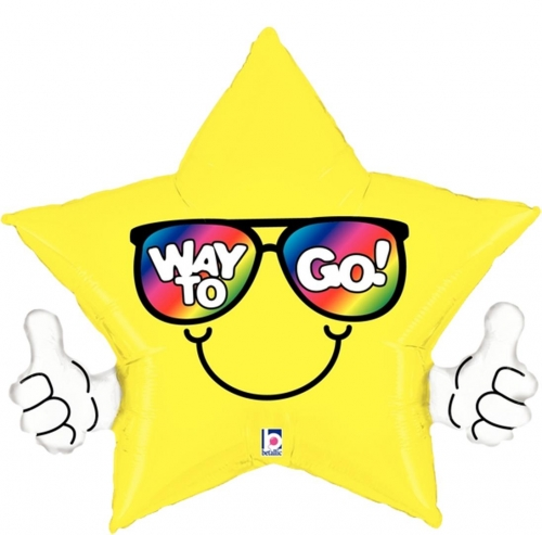 Thumbs Up - Way to Go!