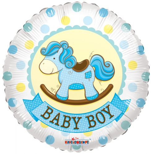 Baby Boy Rocking Horse SL