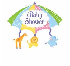 Baby Shower Umbrella Animals