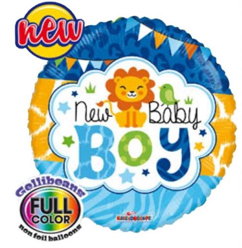 Baby Boy Jungle