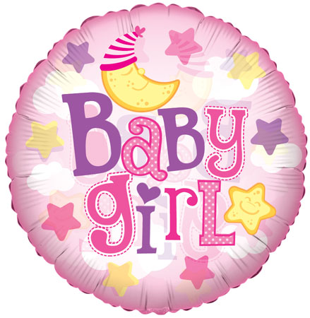 Baby Girl Moon Clear Vieuw SH