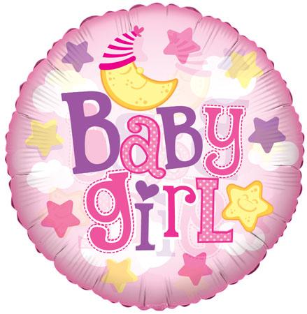 Baby Girl Moon Clear Vieuw