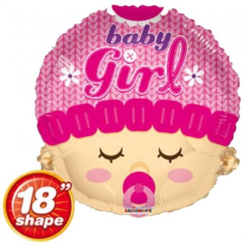 Baby girl head