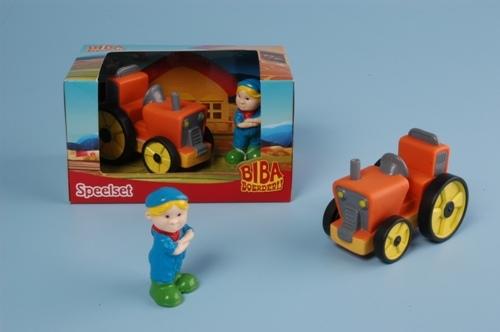 Bibaboederij bart en tractor