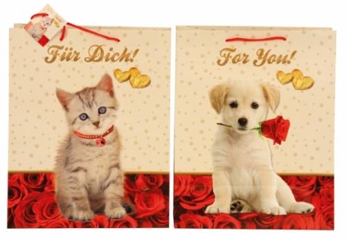 Cadeautasje Kat en Hond