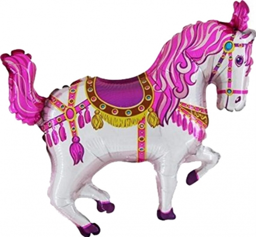 Carousel pony roze ML