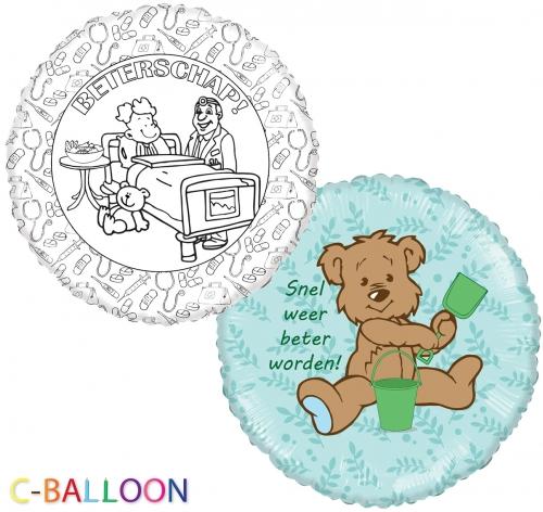 C-Balloon Kit Beterschap jongen