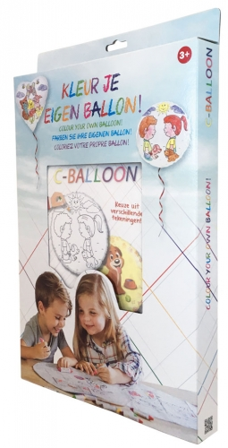 C-Balloon Kit Beterschap jongen