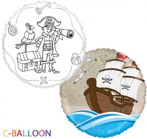 C-Balloon Kit Piraat