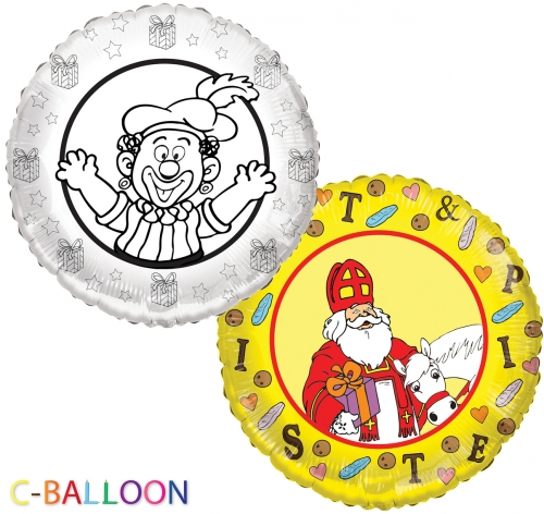 C-Balloon Kit Sint en Piet