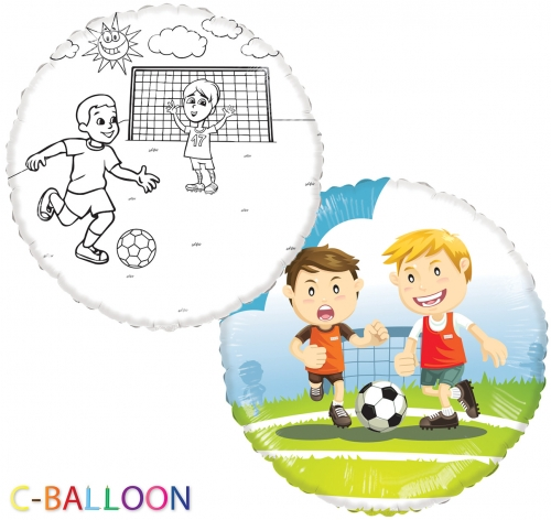 C-Balloon Kit Voetbal