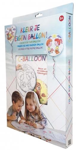 C-Balloon Kit I love you mom bear
