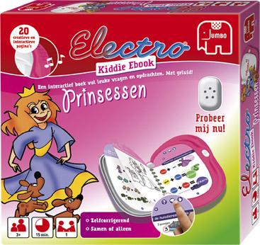 Electro kiddie ebook princessen van JUMBO