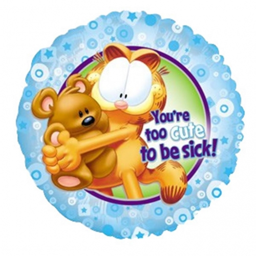 Garfield you\'re to cute to be sick