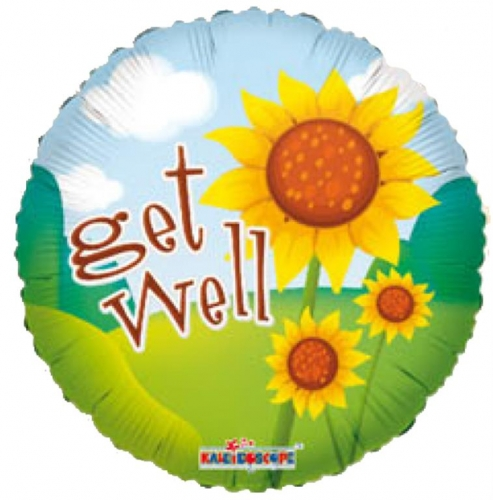 Get Well Bright Sunflowers SL