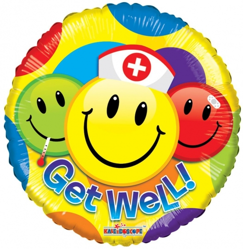 Get Well Smileys  SL