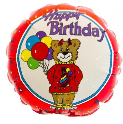 Happy Birthday Beer met Ballonnen