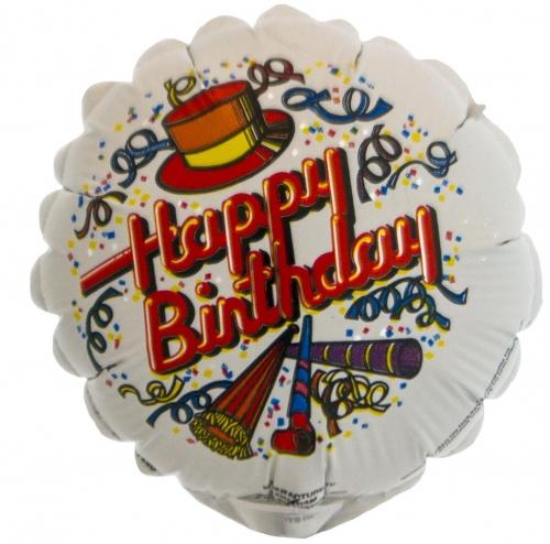 Happy Birthday Confetti and Streamers