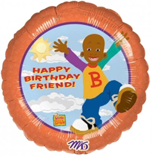 Little Bill Happy Birthday Friend SL