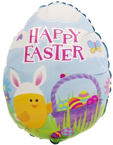 Happy Easter Chicken Basket