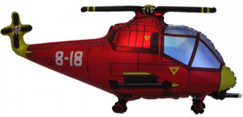 Helicopter Rood