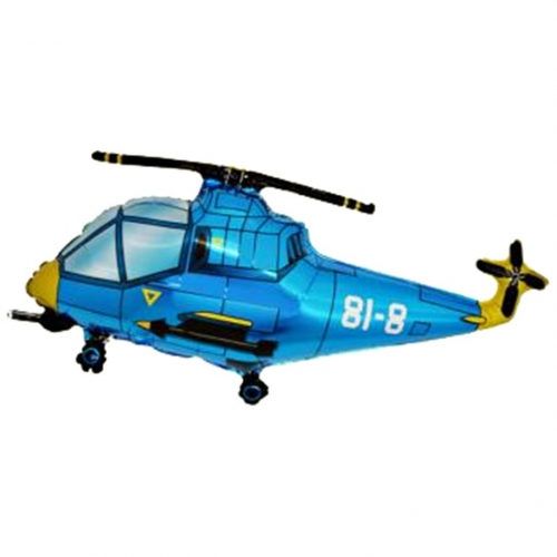Helicopter Blauw ML