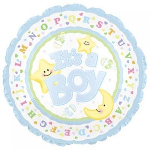 Baby Boy Star and Moon