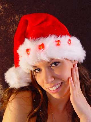Kerstmuts 5 hartjes.