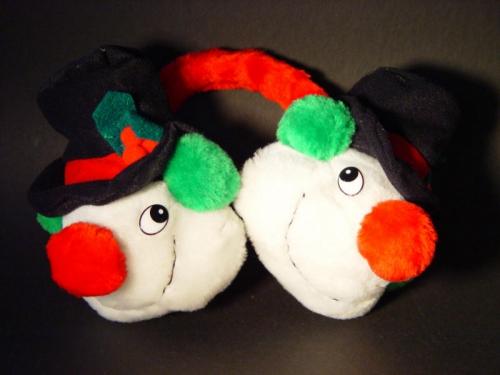 Kerstoorwarmer Sneeuwpop